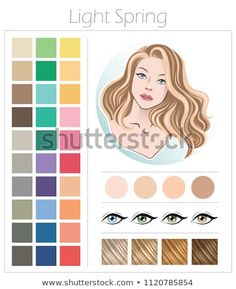 Find Soft Summer Color Type Appearance Women stock images in HD and millions of other royalty-free stock photos, illustrations and vectors in the Shutterstock collection. Thousands of new, high-quality pictures added every day. Light Spring Palette, Deep Autumn Color Palette, Skin Color Palette, Makeup Palette, Color Me Beautiful, Color Type, Mode Rock, Seasonal Color Analysis, Warm Autumn