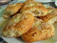 Home Baked Rolls With Cheese