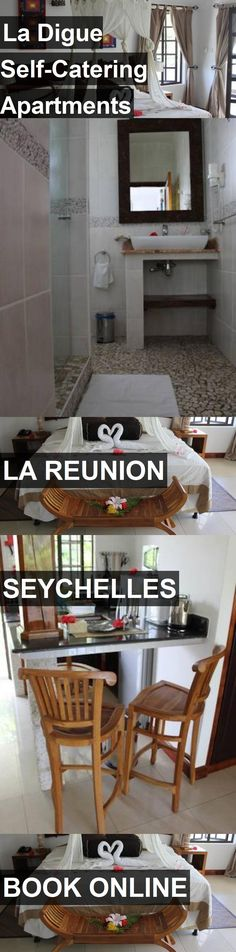 La Digue Self-Catering Apartments in La Reunion, Seychelles. For more information, photos, reviews and best prices please follow the link. #Seychelles #LaReunion #travel #vacation #apartment