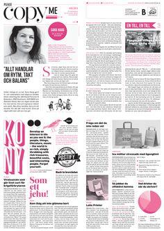 #5/2013  Sara Haag om rytm, takt och balans / Kony – viralsuccén / Back to brevlådan / Bortglömda ord / P3-rådet / Lelle Printer / Jobba effektivt hemma / Bästa drycken till skrivandet / Ica To Go / Erik Modig låter konsumenter bedöma reklamen / Språket är toppigt! / Fotobombning / Werner Aspenström / Årets snyggaste skiva / Konstpretton / Galago Girls / Tre filmer gratis! / Karin Ericson väljer 3