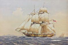 HMS Speedy name ship of class of brig-sloops Old Sailing Ships, Naval History, Pirate Life, Nautical Art, Ship Art, Tall Ships, Military Art, Battleship, 18th Century