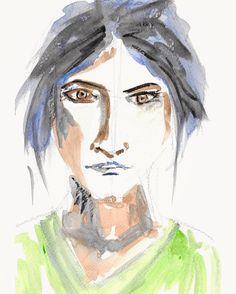 """34 Likes, 1 Comments - Sunil Kalbandi (@sunilkalbandi) on Instagram: """"#portrait #art #sunilkalbandi . . #portraitart #portraitpainting #faces #portraiture #portraitpage…"""""""
