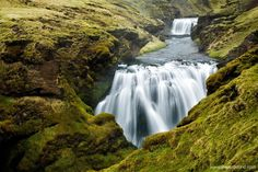 The Þórsmörk's Skógar Hike is great hike between volcanoes and glaciers! This point to point hike begins at Þórsmörk and ends at Skógar offering too many waterfalls to count along with the beautiful gorge, Skógargil where one can explore the unreal landscape of Iceland!