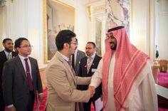 ولي ولي العهد يلتقي الطلبة السعوديين في الجامعات اليابانية وحدة المسلمين .  مُّحَمَّدٌ۬ رَّسُولُ ٱللَّهِۚ وَٱلَّذِينَ مَعَهُ ۥۤ أَشِدَّآءُ عَلَى ٱلۡكُفَّارِ رُحَمَآءُ بَيۡنَہُمۡۖ