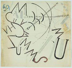 Filippo Tommaso Marinetti, Futurist words-in-freedom, 1915