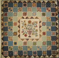 """This is exactly what I've been wanting to say """"It's finished!!"""" I am really happy with the colour choices in this quilt. Thanks for the fa..."""