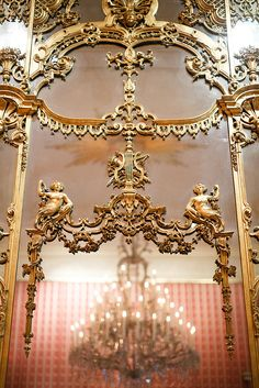Mirror, the Wallace Collection, London, England - Hertford House