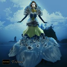 Costume from Pipins, one of the wild pieces that Angiliak Crystal is coming up with.
