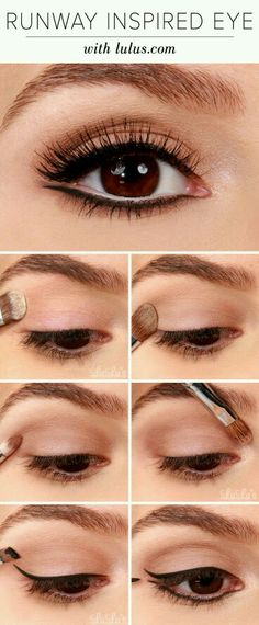 Maquillaje simple.