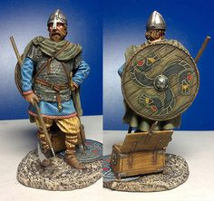 Viking figurine, hand painted... Excellent!