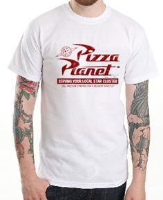 $179.00 Playera Planet Pizza Toy Story - Comprar en Jinx