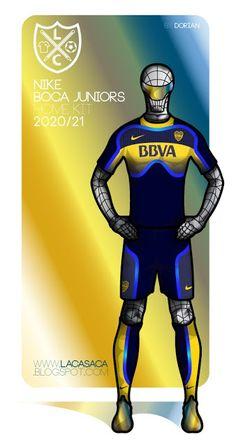 La Casaca Nike 2020 Boca Juniors Fantasy KIT