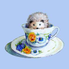 Hedgehog Tea - Wendy DeWitt