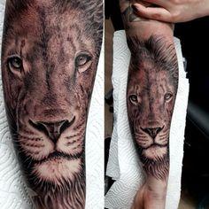 English Uk, Lion Tattoo, Animals, Simple Lion Tattoo, Animales, Animaux, Animal, Animais
