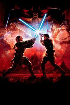 Anakin Skywalker vs Obi-Wan Kenobi