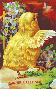 Follow my blog for more Vintage Easter Cards