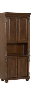 Home Offices, Ansley Park Door Bookcase, Home Offices | Havertys Furniture