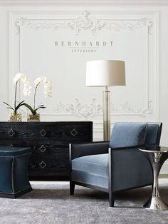 LUXURY FURNITURE | Bernhardt Interiors Boutique | www.bocadolobo.com/ #luxuryfurniture #designfurniture Design Furniture, New Furniture, Luxury Furniture, Living Room Furniture, Rustic Furniture, Outdoor Furniture, Furniture Online, Antique Furniture, Furniture Ideas