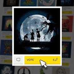 (EN) Were pleased to present our latest t-shirt designs ! VOTE for your favorites on WWW.WISTITEE.COM (FR) De nouveaux designs sont disponibles ! VOTEZ pour vos préférés sur WWW.WISTITEE.COM  #HarryPotter #ReliquesDeLaMort #DeathlyHallows #magie #sorcier #magic #wizard #poudlard #hogwarts #lune #moon #RenFDesign #wistitee #design #tee #tshirt #illustration