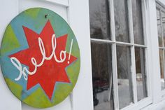 Hello hex sign from SouleMama