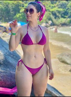 Bikini Babes, Hot Bikini, Bikini Swimwear, Bikini Girls, Beautiful Girl Body, Bikini Clad, Hot Brunette, Sexy Women, Curvy Women