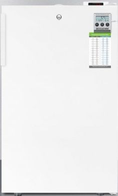 The AccuCold MEDDTADA Series compact refrigerator by #Summit that comes fully featured for temperature stabilizing performance for use in medical scientific phar...