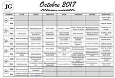 7 documents à télécharger gratuitement pour une organisation au top : Planner, To Do Liste, Planning de menus avec liens vers les recettes, Tracker...