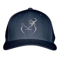 Deer Love Embroidered Baseball Cap