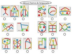 Mes  brevets Montessori Activities, Educational Activities, Preschool Activities, Indoor Activities For Kids, Toddler Activities, Shapes For Kids, Busy Boxes, Coding For Kids, Ideias Diy