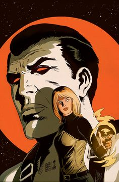 THE VALIANT #1 (of 4) Written by JEFF LEMIRE & MATT KINDT Art & Cover by PAOLO RIVERA Variant Cover by JEFF LEMIRE & MATT KINDT Variant Cover by FRANCESCO FRANCAVILLA B&W Sketch Variant by PAOLO RIVERA