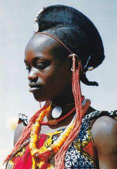 Africa   Fulani woman. Dogon Country, Mali   ©Michel Renaudeau