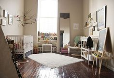 Eclectic | Community Post: 20 Stylish Gender-Neutral Nurseries