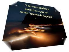 """Grupo Espíritas """"A paz em ti ajudará a produzir-se a paz no mundo."""" (Joanna de Ângelis)  """"Peace to you will help produce up to world peace."""" (Joanna de Angelis)"""