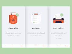 Travel App Walkthrough