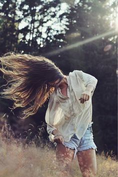I wish to dance like this right now and whip my hair back and forth in a field of dry grass.