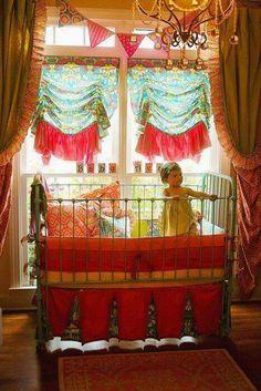 ☮ American Hippie Bohéme Boho Lifestyle ☮ Baby Nursery