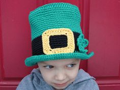 Ravelry: St Patricks Day Hat Crochet PATTERN pattern by Taralee Duffin