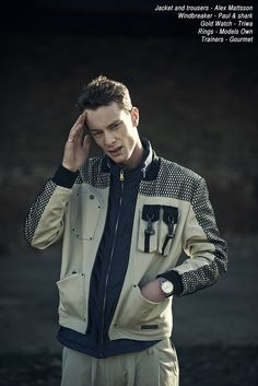 Matthew Barnet at SUPA Models photographed by Russell Higton and styled by Rhona Ezuma