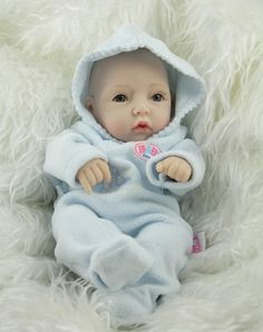 2016 New Arrival Free shipping 10 inch mini newborn baby doll realistic  full silicone babies reborn christmas gift #>=#>=#>=#>=#> Click on the pin to check out discount price, color, size, shipping, etc. Save and like it!
