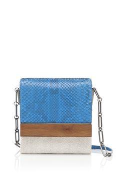 Shop Devi Kroell Azul Hamptons Collection L'Avenue Shoulder Bag at Moda Operandi