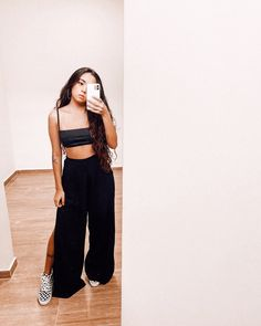 Bad Girl Outfits, Teenager Outfits, Cool Outfits, Casual Outfits, Womens Fashion Casual Summer, Summer Outfits Women, Women's Fashion Dresses, Casual Looks, Ideias Fashion