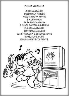 SONHO DE PROFESSORA: músicas e poemas para educação infantil Musicals, Classroom, Comics, Gabriel, Bb, Rhyming Activities, Kids Activity Ideas, Poems, Index Cards