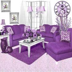 ♡❦✤PURPLE✤❦♡ Livingroom
