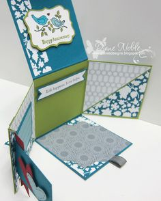 Diane's Designs: Interactive Card- Photo Tutorial (easy to follow instructions)