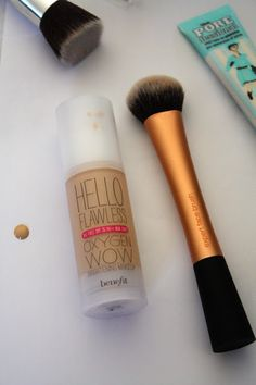 Just purchased...LOVE! The Extras: Benefit Hello Flawless Foundation