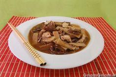 • Pollo funghi e bambu' - Le ricette di GnamGnam - Ricette con foto passo passo