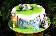 Shaun the sheep - Cake by Anna Krawczyk-Mechocka