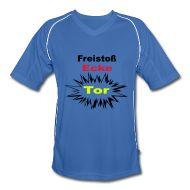 T-Shirts ~ Männer Fußball-Trikot ~ Männer Fußball-Trikot - Freistoß -Fanshirt
