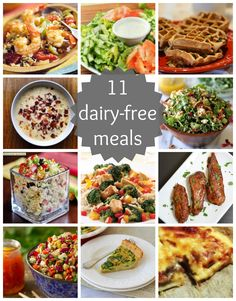 dairy free meals