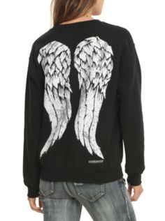 The Walking Dead Daryl Wings Girls Pullover